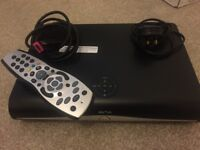 Sky+ HD Box with Cables and Remote Control