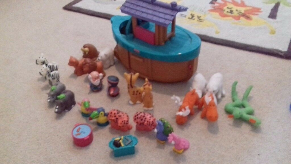 Toddler toyFisher price little people arkin Colinton, EdinburghGumtree - For sale little people noah ark by Fisher price. In good condition. All animals complete plus few extras we added to it. From smoke and pet free home