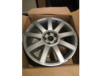 "GENUINE AUDI A4 A6 A8 18"" 9 SPOKE RS4 STYLE ALLOY WHEEL"