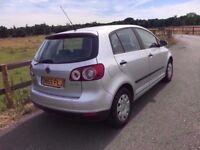 2005 Volkswagen Golf Plus 1,6 litre 5dr 1 owner