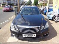 BAD CREDIT CAR FINANCE AVAILABLE 2009 09 MERCEDES E350 CDi SPORT AUTOMATIC