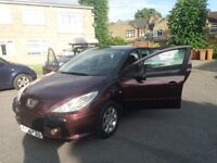 1.6 PEUGEOT 307 AUTOMATIC 2006 YEAR 88000 MILE MOT 11/6/18 HISTORY HPI CLEAR 3 MONTHS WARRANTY