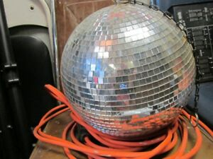 large mirror ball