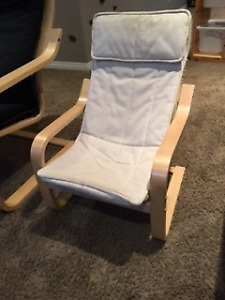 Childrens Poang Ikea Chair for sale