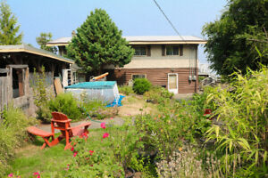 STUNNING Panoramic Ocean View Listing- Chemainus, .63 acre and T