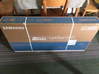 "Samsung TV 40"" 4K Ultra HD Smart TV - BRAND NEW"