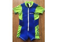Child's Head Shorty WetSuit Size Small (Age 3-5) UV Protection