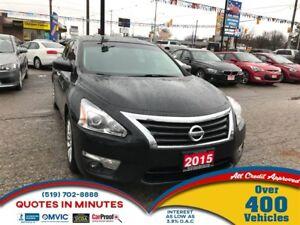 2015 Nissan Altima 2.5 S | CAM | BLUETOOTH | SAT RADIO