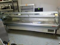 3.2 Metre Wide Curved Glass Serve Over Meat Display Fridge AST155