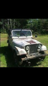Jeep CJ for sale or Part Out