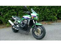 Rare Green Low Mileage Kawasaki ZRX1100-C3 Eddie Lawson Replica Motorbike
