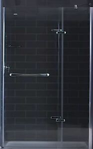 Tile redi shower base & shower door
