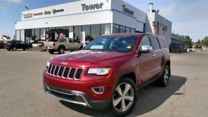2015 Jeep Grand Cherokee Limited - HEATED LEATHER SEATING, REAR-