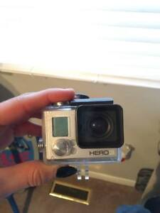 GO PRO HERO 3 WITH GO PRO BRANDED TOUCH SCREEN