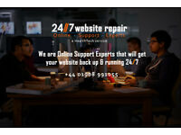 Is your website down or malfunctioning?