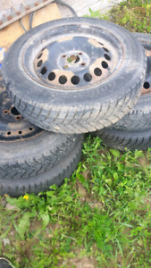 5 Hankook snow tires