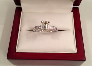 SAVE $4,005 0.91TCW GIA! Centre 0.85ct,SI2,K Brand New Condition