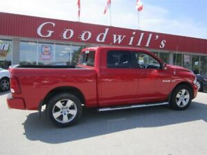 2010 Dodge Ram 1500 SPORT! HEATED/COOLED LEATHER SEATS!