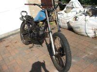 Motorbike Kawasaki KE125 Barn Find For Spare Or Repairs