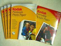 Kodak Photo Paper x5 packs