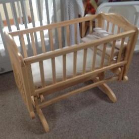 Baby bundle, glider crib, Moses basket, steamer etc £150 ono
