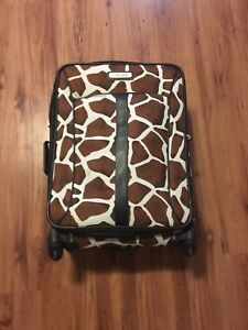 Large suit case and carry on