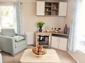 New , Lovely, modern static caravan for sale on our beautiful park in Porthcawl Trecco Bay