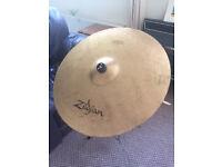 Zildjian ZBT Ride Cymbal 20 inch + boom cymbal stand