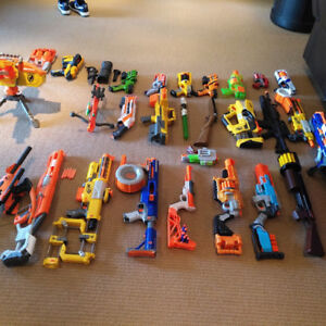 Nerf Guns For Sale Individual or Lot Pricing- Mint Condition