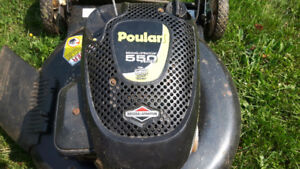 POULAN 550 SERIES LAWN MOWER