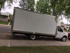 Ford e350 moving van