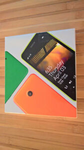 Lumia 635 Unlocked any carrier - Like New in orig box for $100
