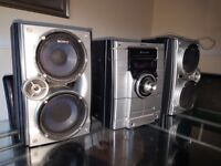 Sony stereo and speakers