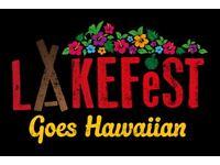 Lakefest 2017 Adult Weekend Ticket 10-14 August (RRP £105)