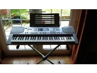 Casio CTK 800 Electric Keyboard and stand. Good condition