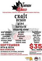 Northern Breed heavy music festival fundraiser