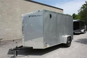 2018 Stealth 6X12  Enclosed Pro Series Trailer