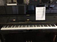 Yamaha U3 Upright Piano - Polished Ebony