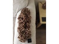 Animal print brand new scarf