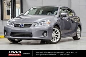 2012 Lexus CT 200h TOURING; CUIR TOIT MAGS HYBRID - 4.6L / 100KM