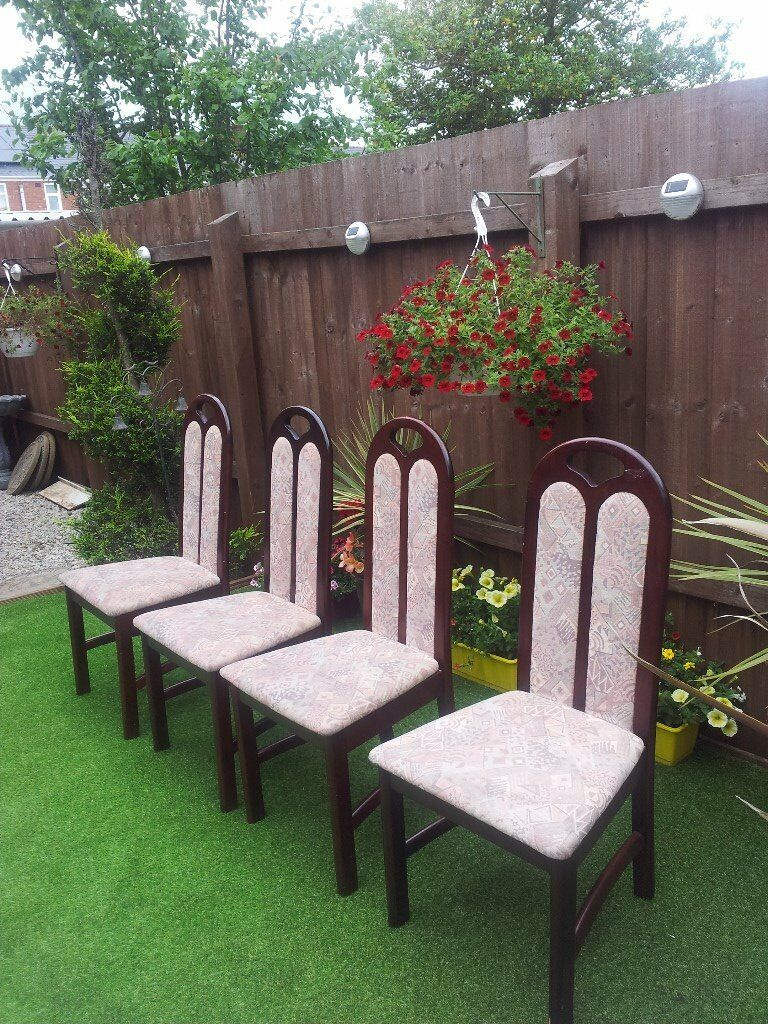 DINING CHAIRS X 4in Coventry, West MidlandsGumtree - X 4 DINING CHAIRS NO OFFERS 25 THE SET COVENTRY NO OFFERS