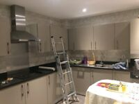 £65 PER FEATURE WALLPAPER FITTING. 24 HOUR CALL OUT SERVICE. FEATURE WALLS. PAINTER AND DECORATOR.