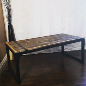 Custom Reclaimed and Live Edge Furniture