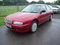 ROVER 600 623 GSI, Red, Auto, Petrol, 1993