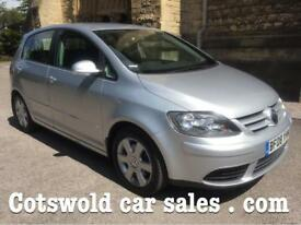 2008 Volkswagen Golf plus 1.9 tdi se 1 owner 9 Main Dealer services !65 mpg pristine condition