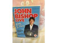 JOHN BISHOP LIVE DVD - SEALED