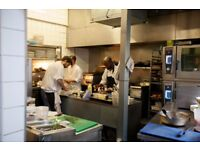 Kitchen Porter for successful Notting Hill kitchen