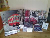 LOVE LONDON ?? .. XL CANVAS, CUSHIONS & MORE FOR BEDROOM AND/OR LOUNGE