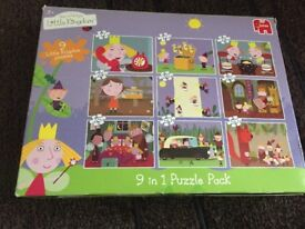 Ben and holly jigsaws