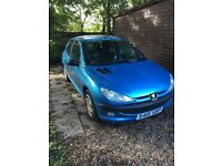 Peugeot 206, 2 owners, 1999, 80k miles, well serviced